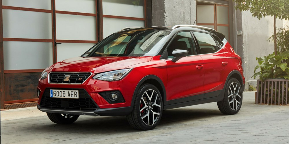 Seat Arona SUV private lease