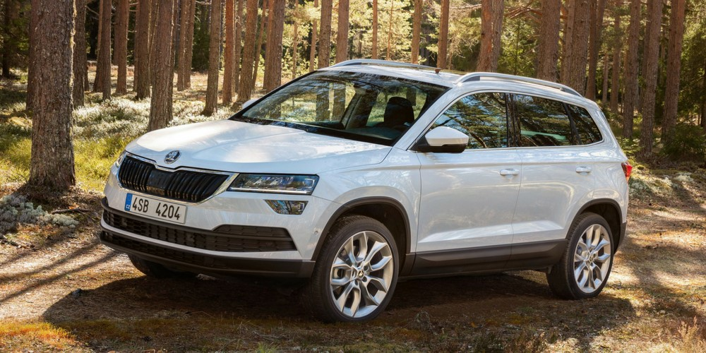 Skoda Karoq SUV private lease