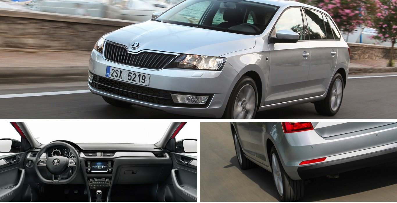 Skoda Rapid Spaceback Private Lease