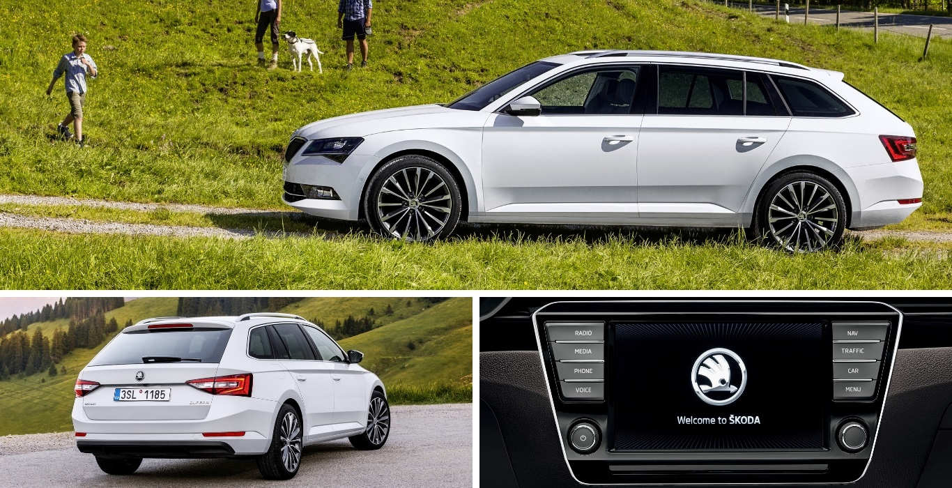 skoda superb combi private lease